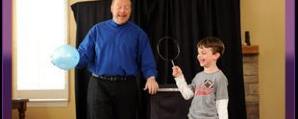 One of Fun Magic Show for Children